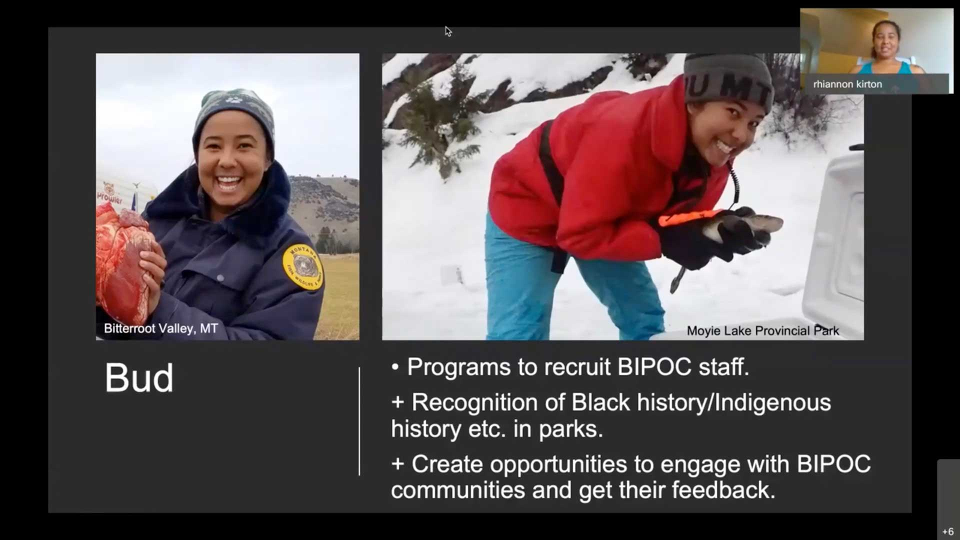 Black Experiences in Parks Webinar