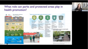 Webinaire Healthy Parks Healthy People