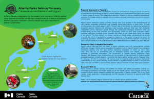 CPCIL ePoster Atlantic Salmon Parks Canada