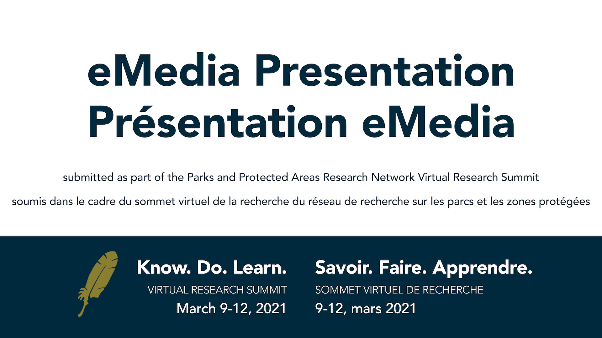 eMedia presentation for CPCIL Virtual Research Summit
